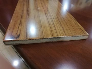 China Fast Installation Rectangle Fiberboard Flooring With Glabrous And Smooth Surface distributor